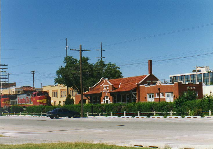 Dallas - Norman OK  - Norman railway station
