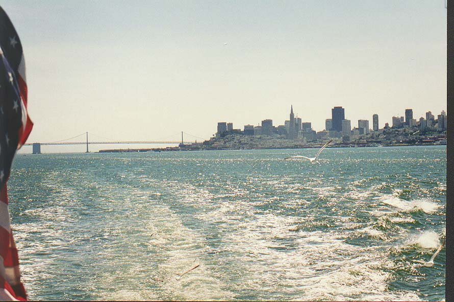 Saturday in San Francisco; a ferry to Sausalito
