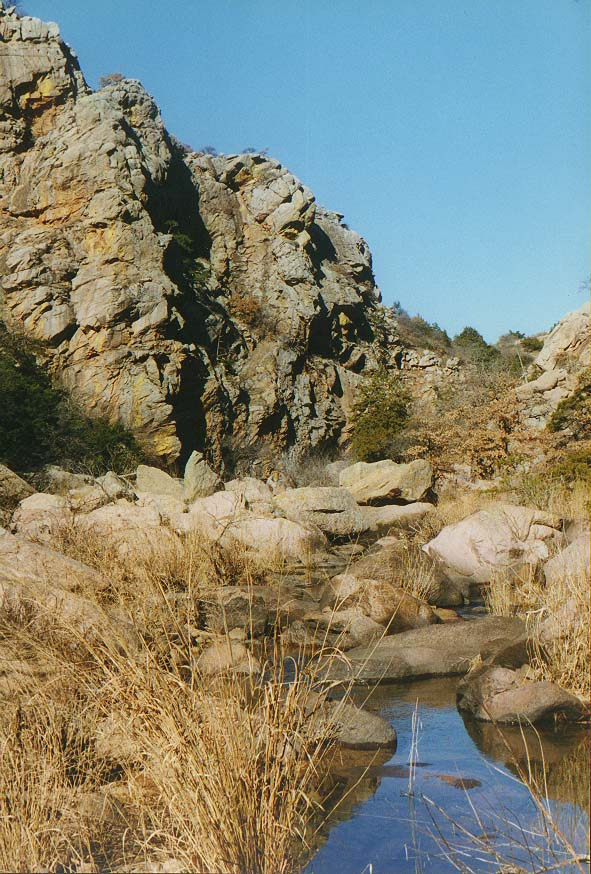 trip to Wichita Mountains with OU Timberline Explorers club Jan. 31-Feb. 1