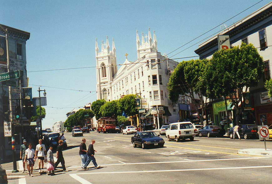 Saturday in San Francisco: Post St., Union Sq., China Town, Telegraph Hill