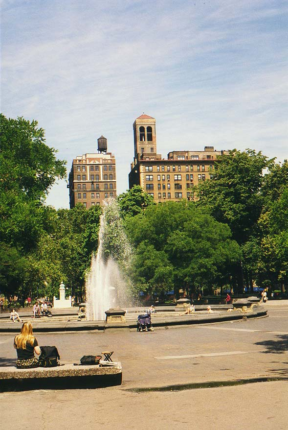 5th Ave., Washington Square, So Ho, West Broadway, World Trade Center