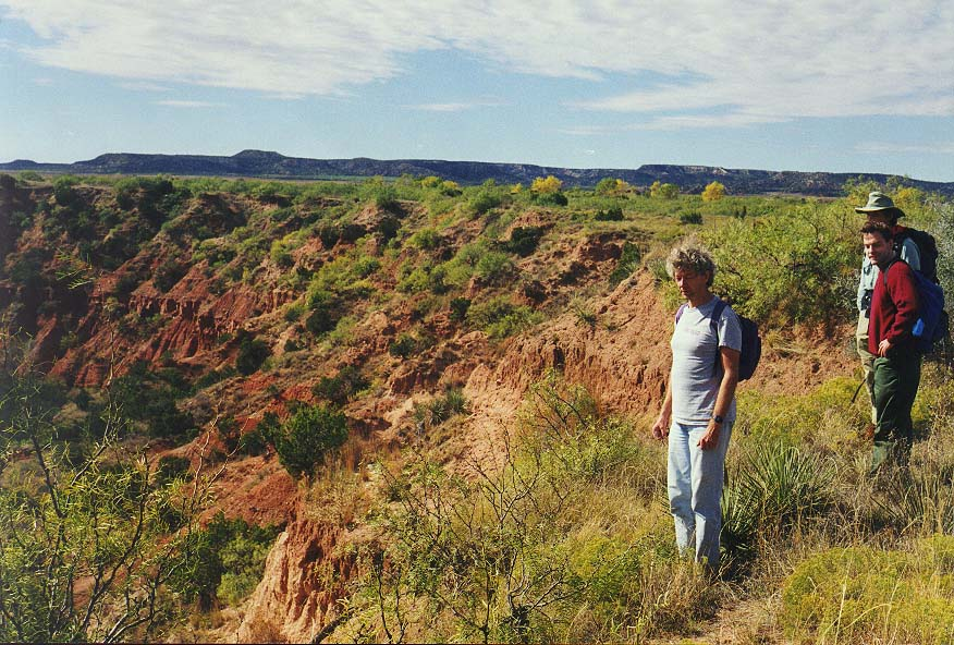 Caprock Canyons State Park-Dallas  - Caprock Canyons 11/2/97