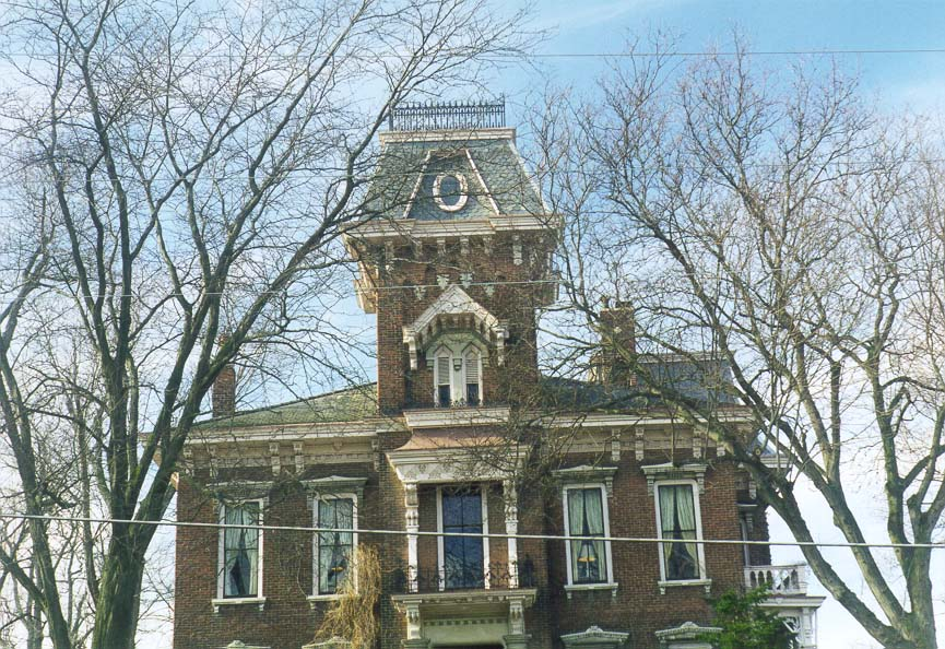 A house at South 9th St.. Lafayette, Indiana