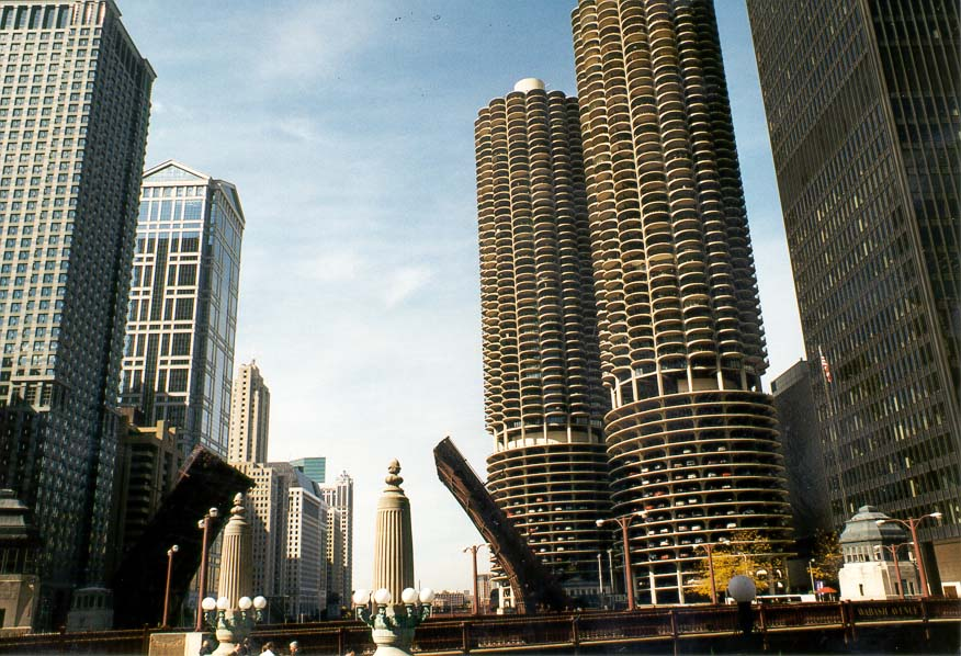 Lafayette IN - Chicago IL  - Marina City. Chicago