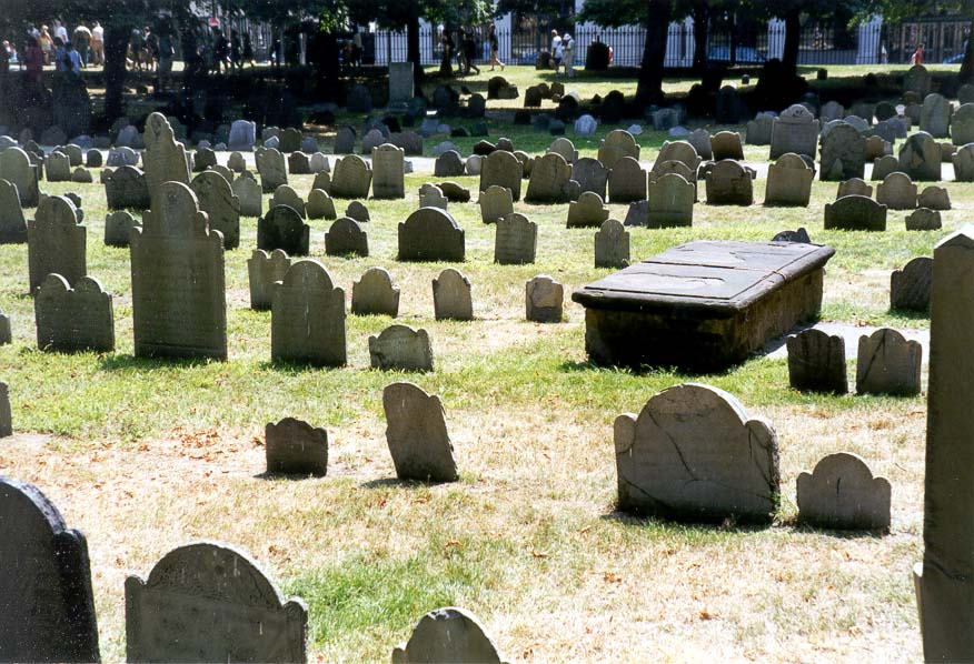 Boston  - Granary Burial Ground in Boston MA