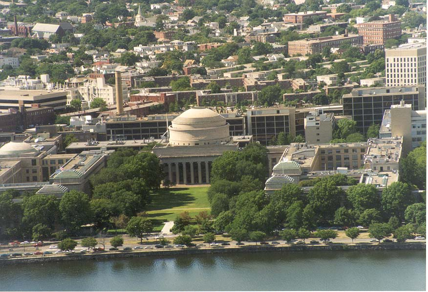 View of Massachusetts Institute of Technology in...Tower, Boston. Massachusetts