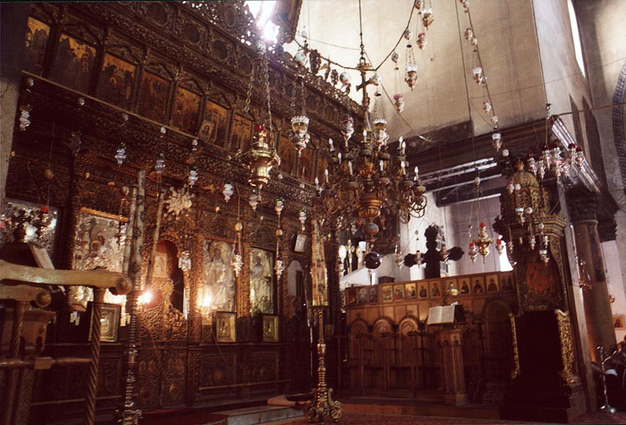 Church of the Nativity in Bethlehem. The Middle East