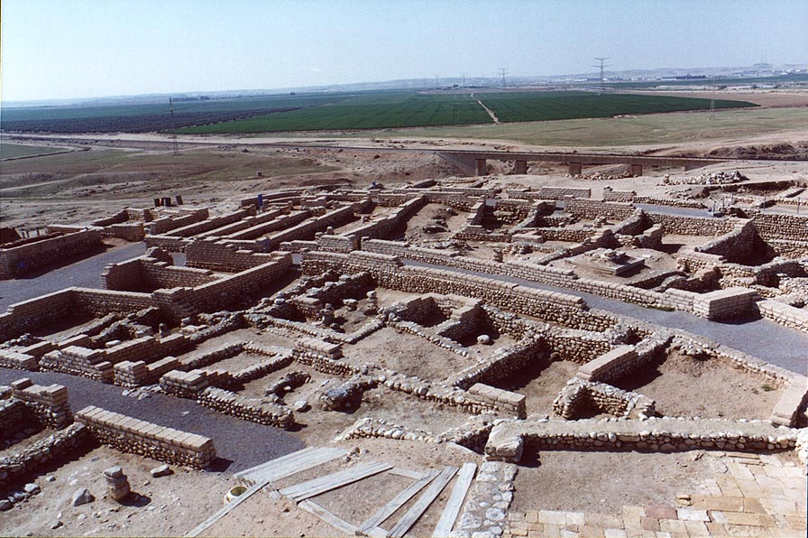Tel Sheva excavations near Beer-Sheva. The Middle East