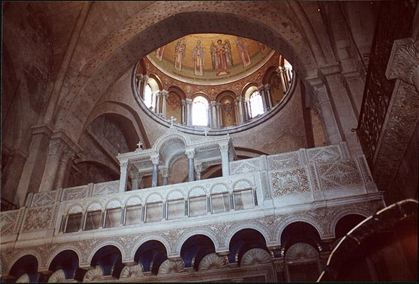 Church of the Holy Sepulchre in the Old City. Jerusalem, the Middle East