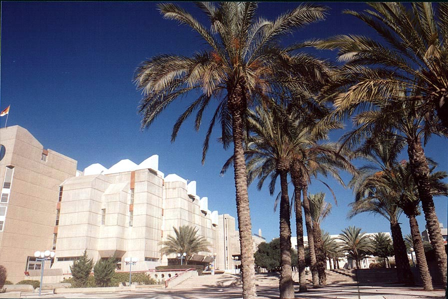 Central library of BGU (University of the Negev...of Aliya. Beer-Sheva, the Middle East