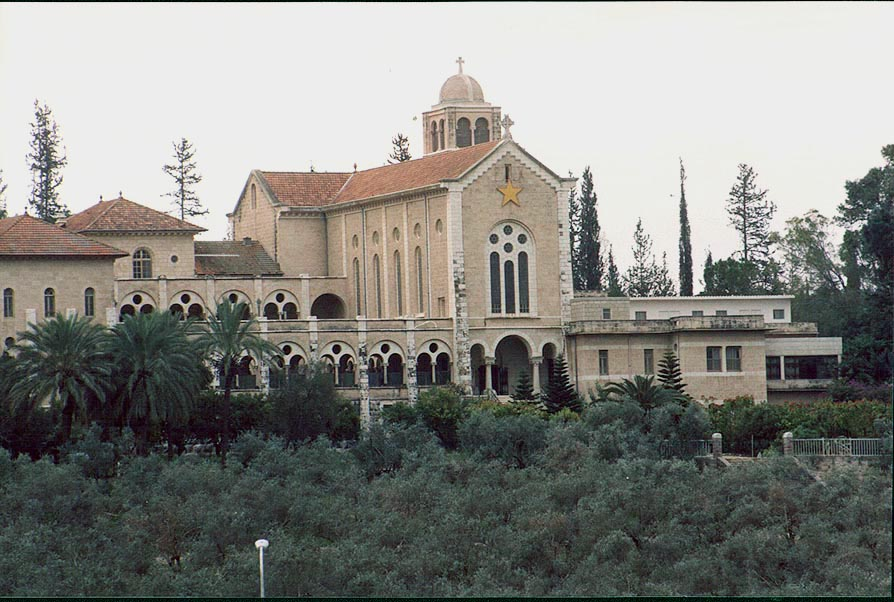 Latrun, the Trappist Monastery. The Middle East