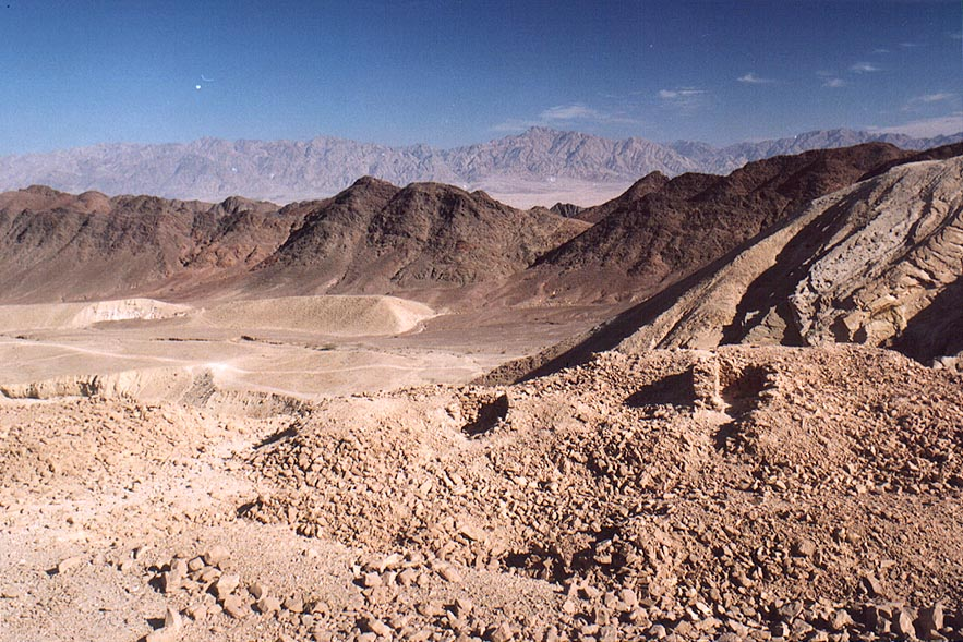 Byzantine quarries of Boded (Lost) City near...north-west from Eilat. The Middle East