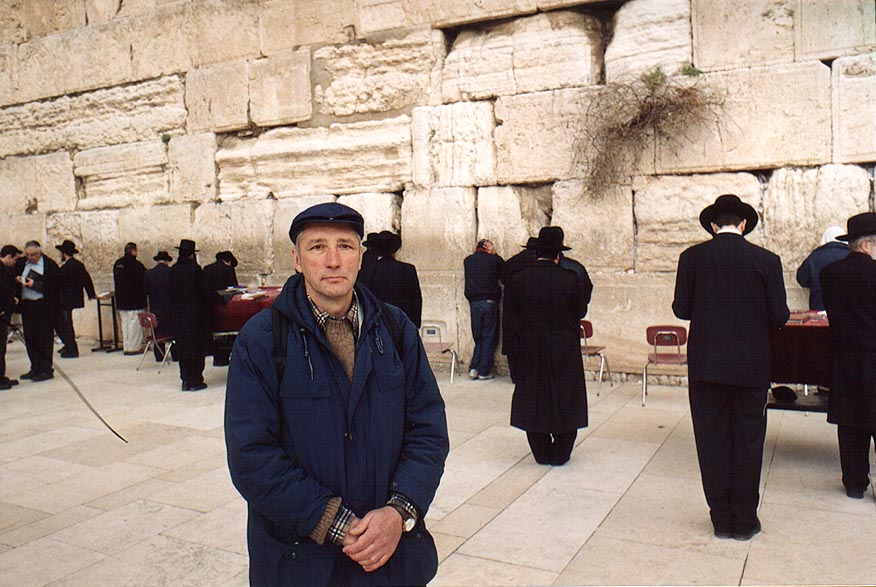 A controversial physicist Sergey Pozdneev (a...Wall. Jerusalem, the Middle East