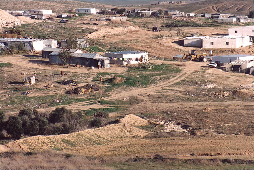 A Bedouin village in Negev Desert 1.5 miles north from Beer-Sheva. The Middle East