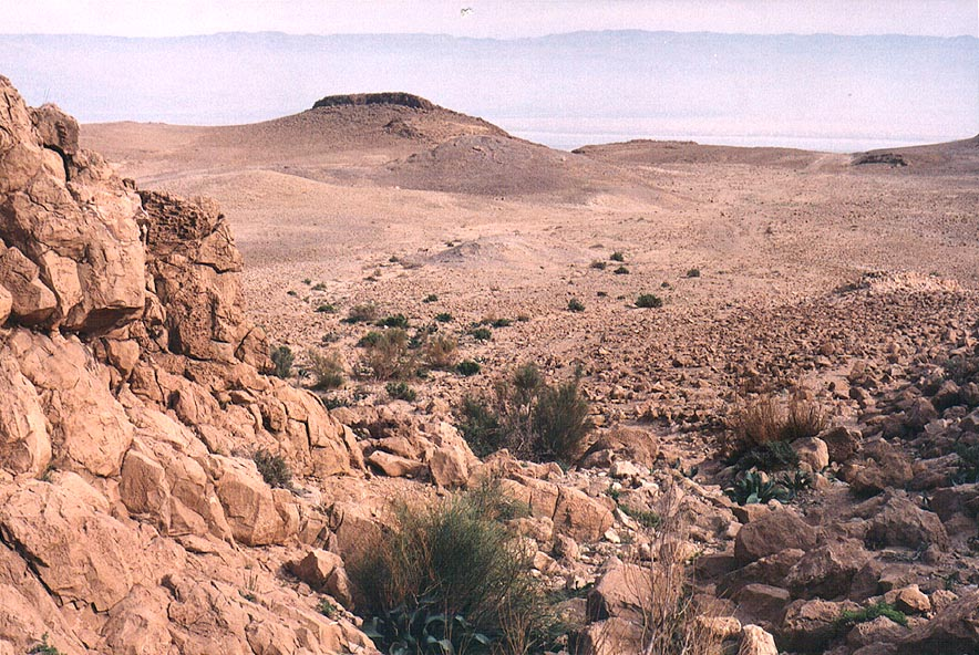 Maale Tseelim ascent in Judean Desert. The Middle East
