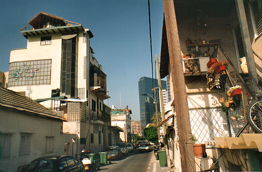 Shabazi Quarter in Tel Aviv. The Middle East