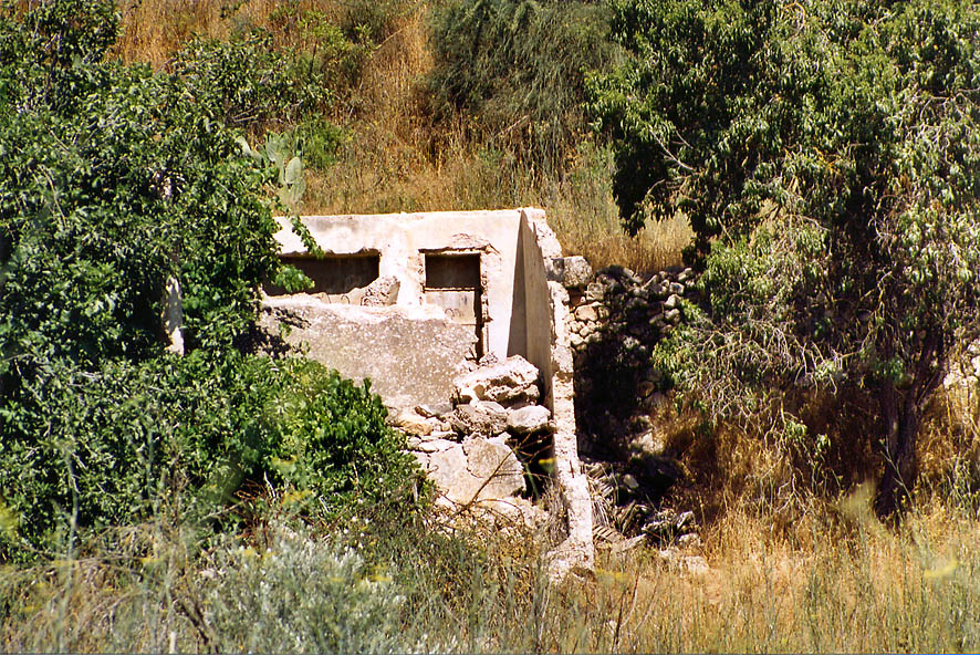 Remains of a village near Enot Telem spring west from Jerusalem. The Middle East