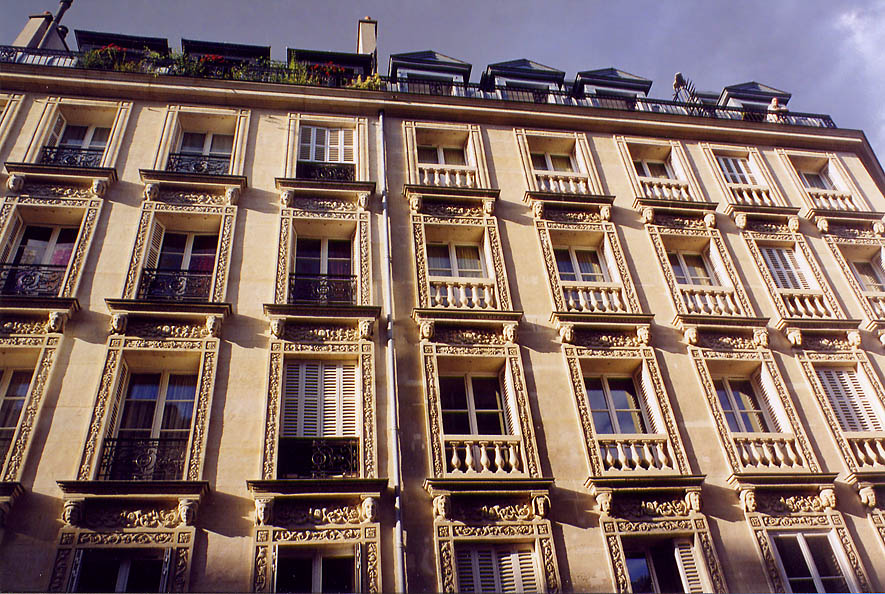 Paris  - Rue des Francs Bourgeois. Paris