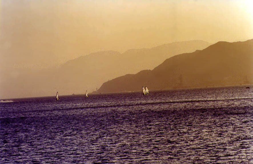 Gulf of Akaba near Eilat. The Middle East