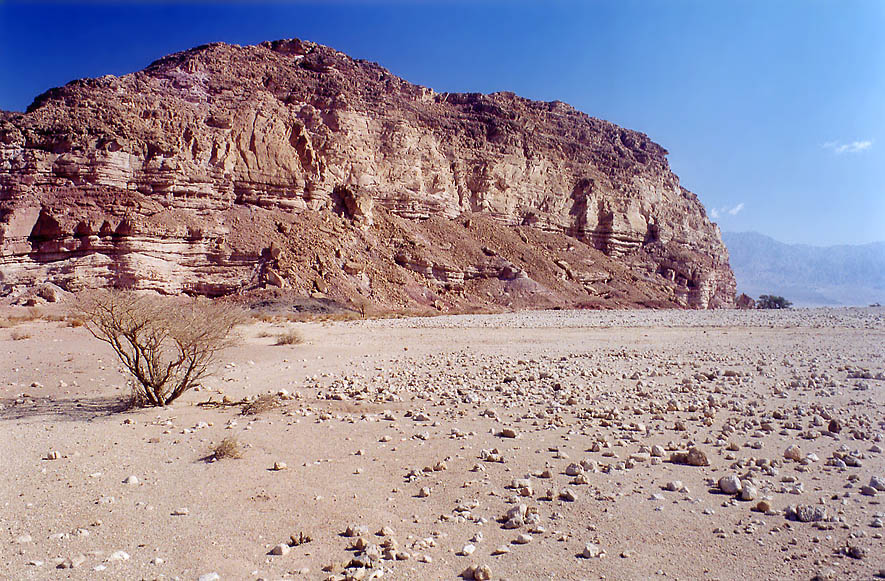 Area near Sasgon Hill in Timna Park, 13 miles north from Eilat. The Middle East