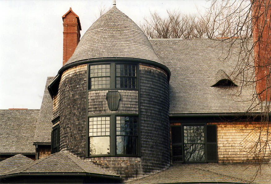 Isaac Bell House at Bellevue Ave. in Newport. Rhode Island