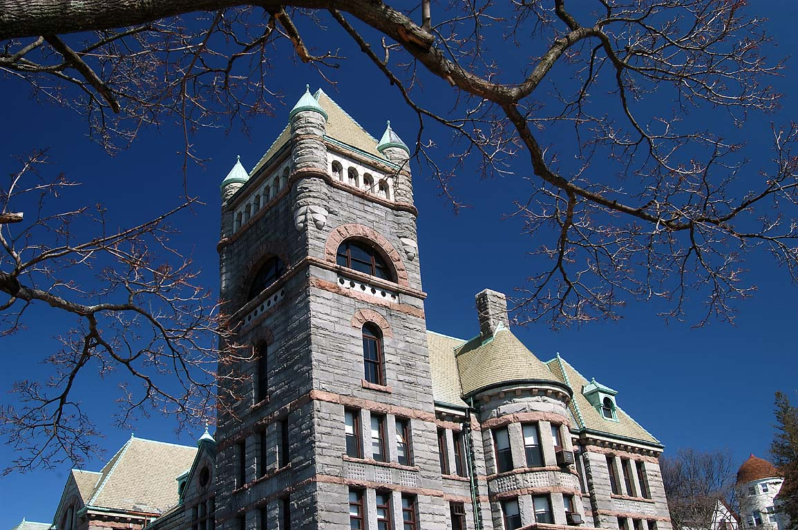 Fall River Superior Courthouse at North Main St., Massachusetts