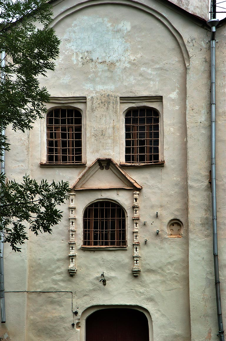 A church of Yaroslav Courtyard. Novgorod, Russia