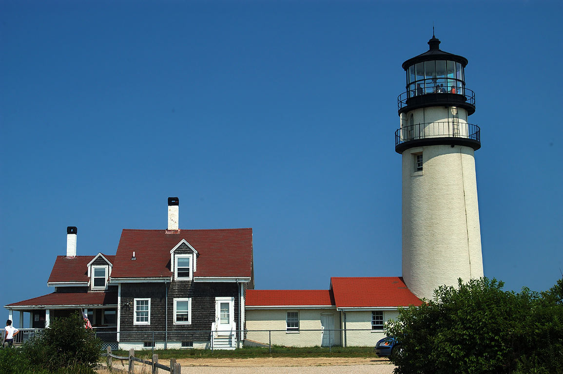 Highland Light (Cape Cod Light). North Truro, Massachusetts