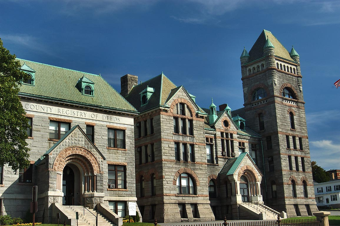 Fall River Superior Courthouse at North Main St.. Massachusetts