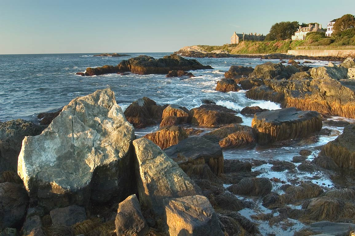View in direction of Stanton's Reef and Rough...Sheep Point in Newport. Rhode Island