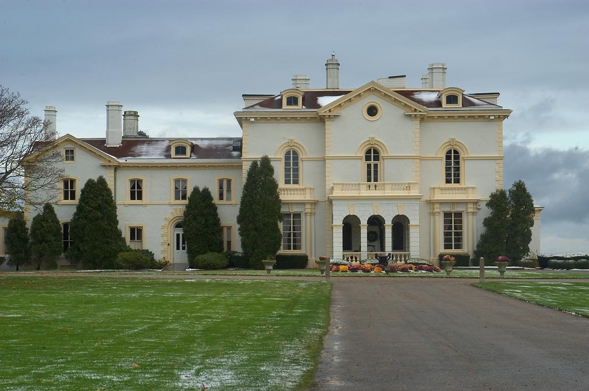 Mrs. Astor's Beechwood Mansion at Bellevue Ave. in Newport. Rhode Island