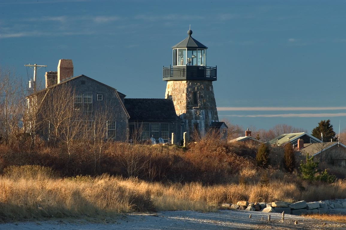 Gooseberry Island and Snug Harbor, view from the...Rd. in Jerusalem. Rhode Island