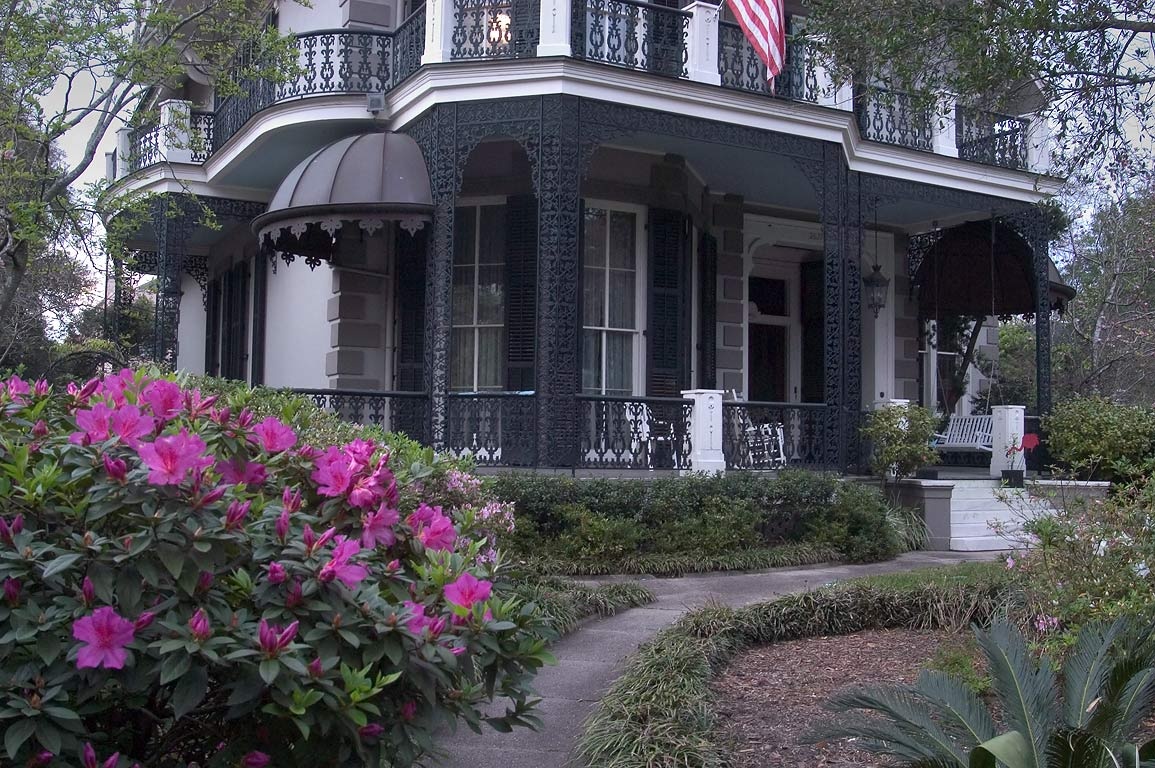 Koch-Mays House (c. 1860-1870) at 2627 Coliseum...District. New Orleans, Louisiana