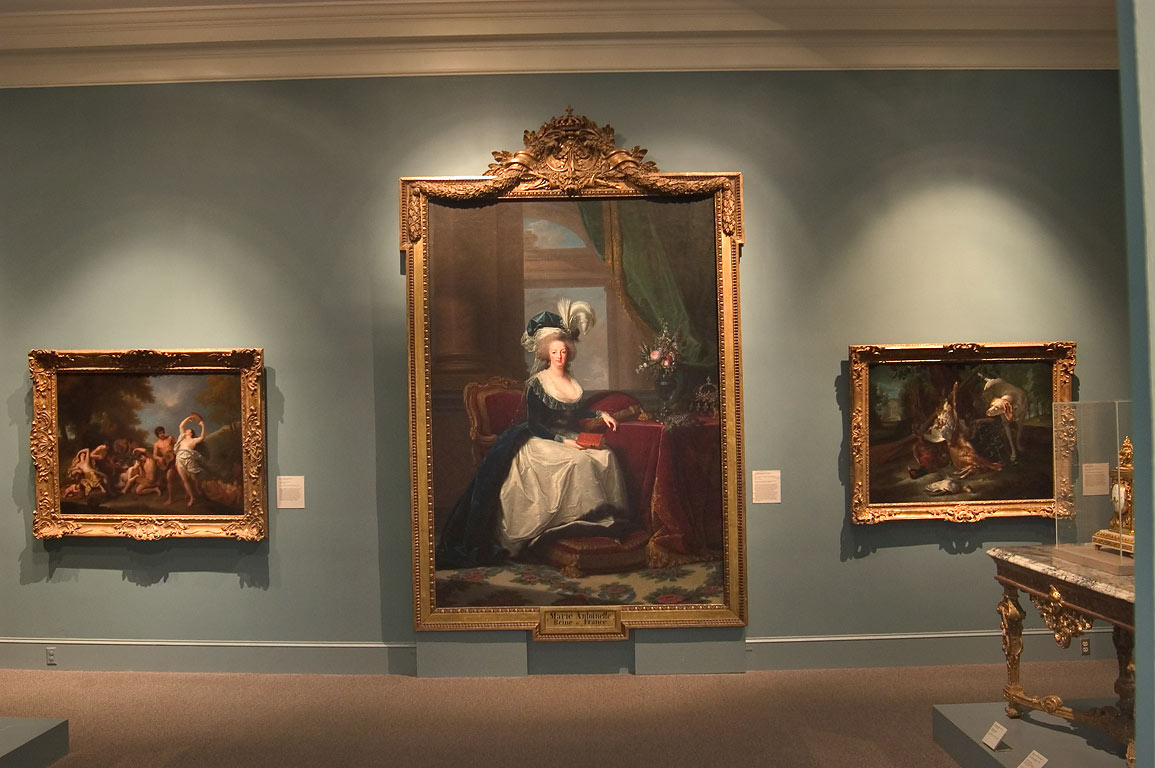 French art in Museum of Art (NOMA). New Orleans, Louisiana