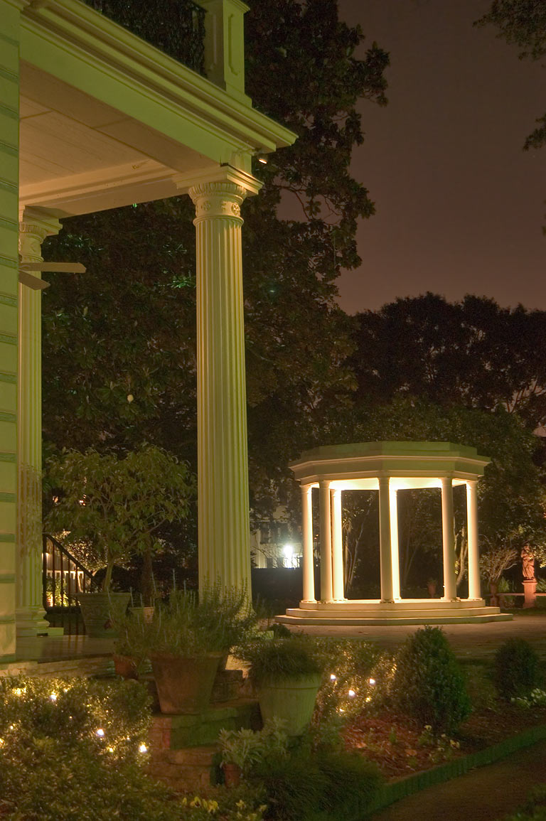 Rotunda in a garden of Van Benthuysen-Elms...Charles Ave.. New Orleans, Louisiana