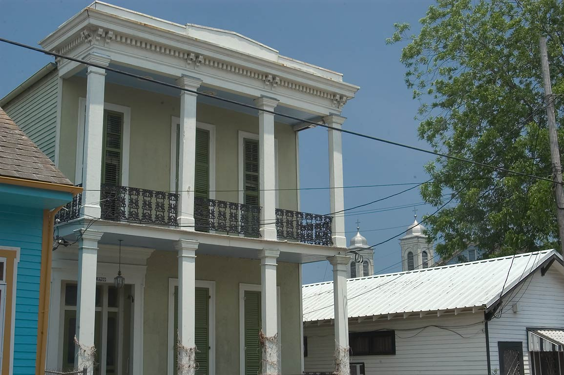 A double gallery house at 2709 Royal St. (Marie D...Marigny. New Orleans, Louisiana