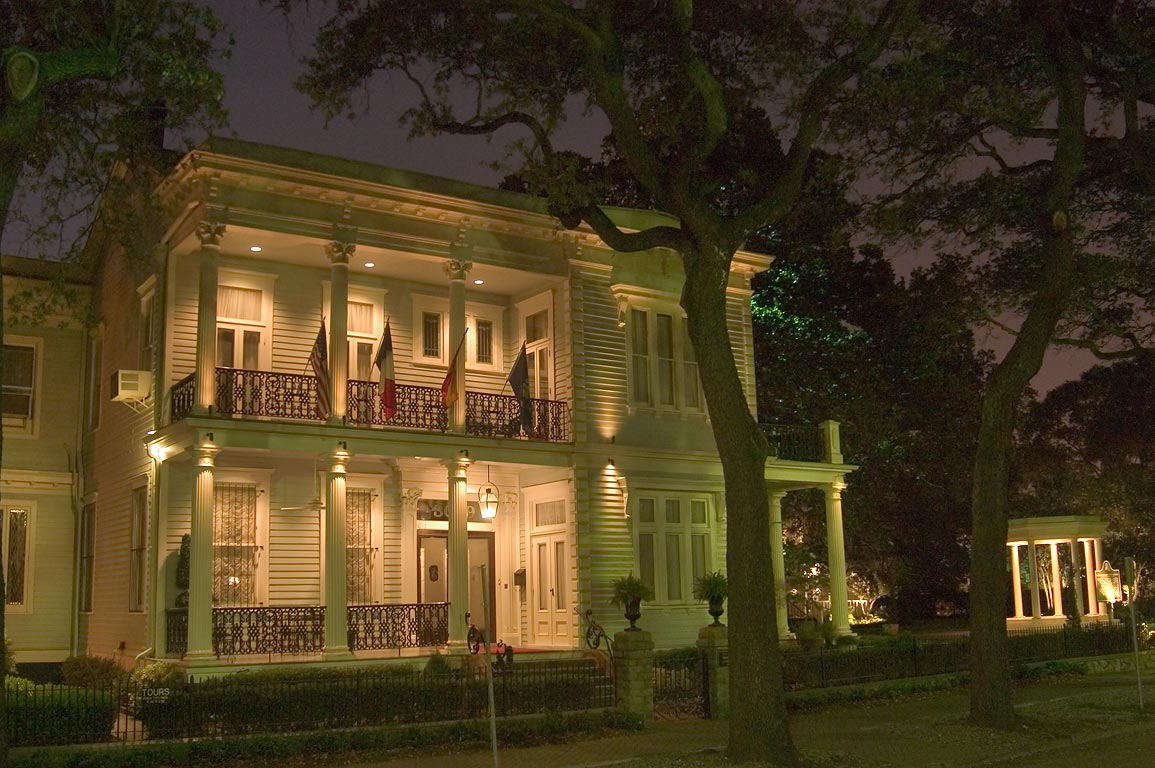 Van Benthuysen-Elms Mansion at St.Charles Ave.. New Orleans, Louisiana