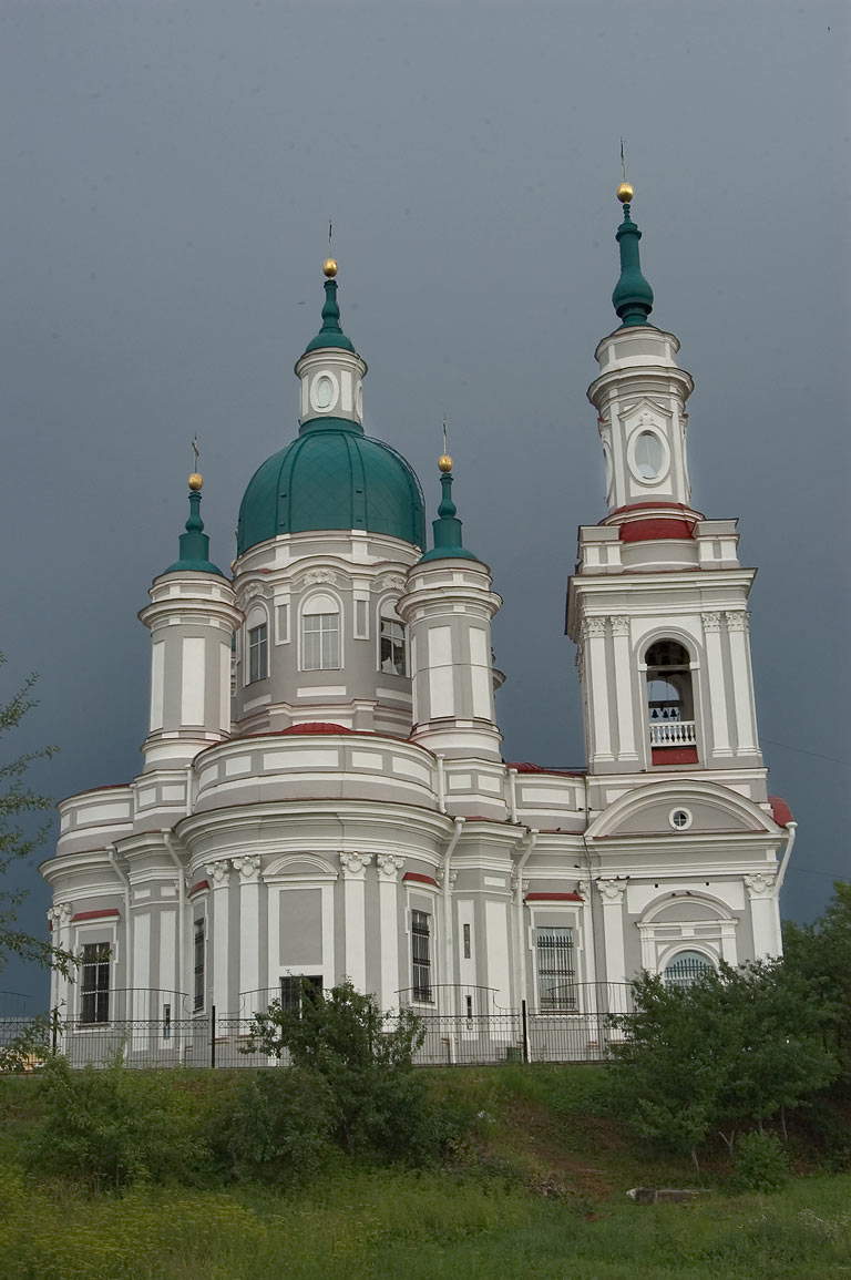 St.Catherine Church in Kingisepp. Leningrad Region, Russia