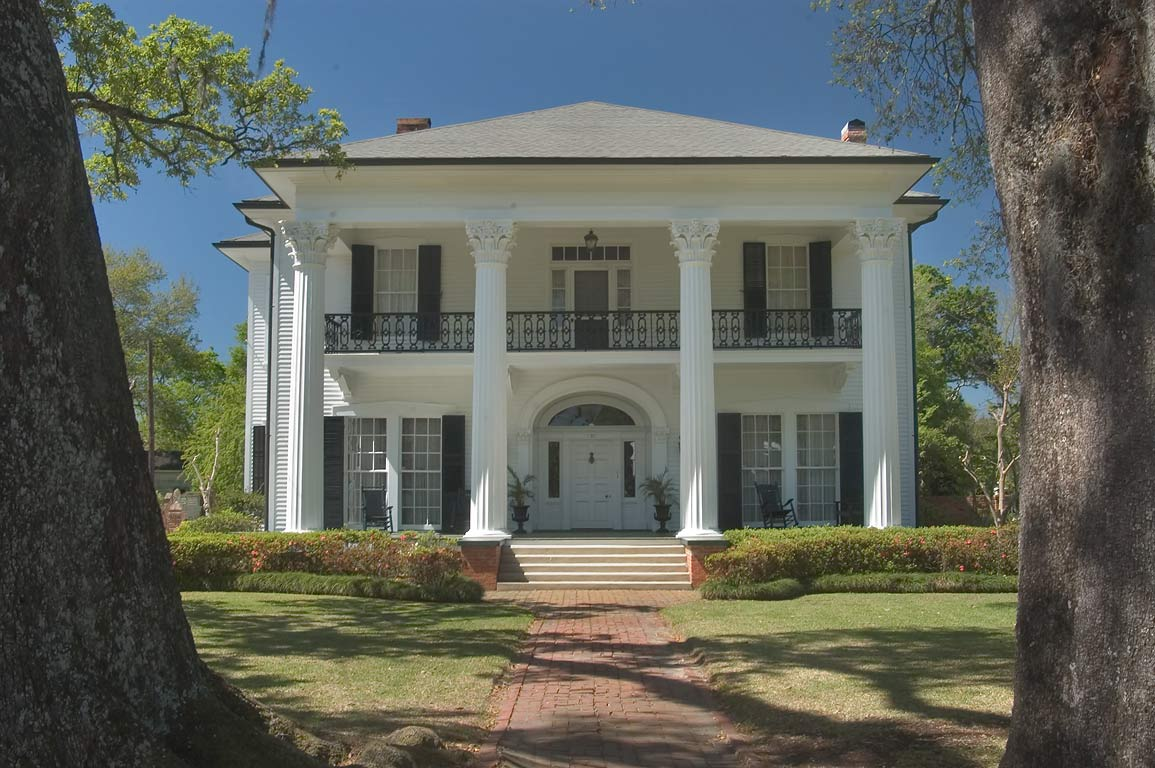 A mansion at Rd. 182 in Franklin Historical District, St.Mary Parish. Louisiana
