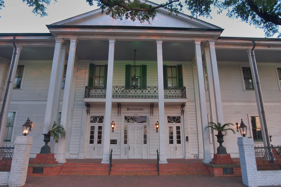 Bultman Funeral Home at 3338 St.Charles Ave. New Orleans, Louisiana