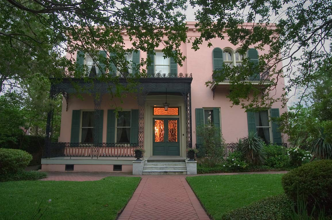 Gilmore-Parker-Christovich House (1853) at 2520...District. New Orleans, Louisiana