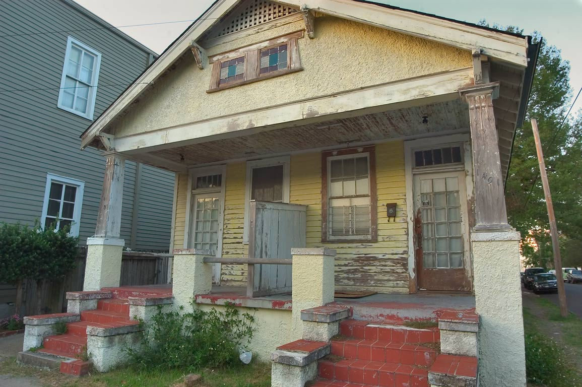 A house at 1401-1403 St.Mary St., a corner of...District. New Orleans, Louisiana