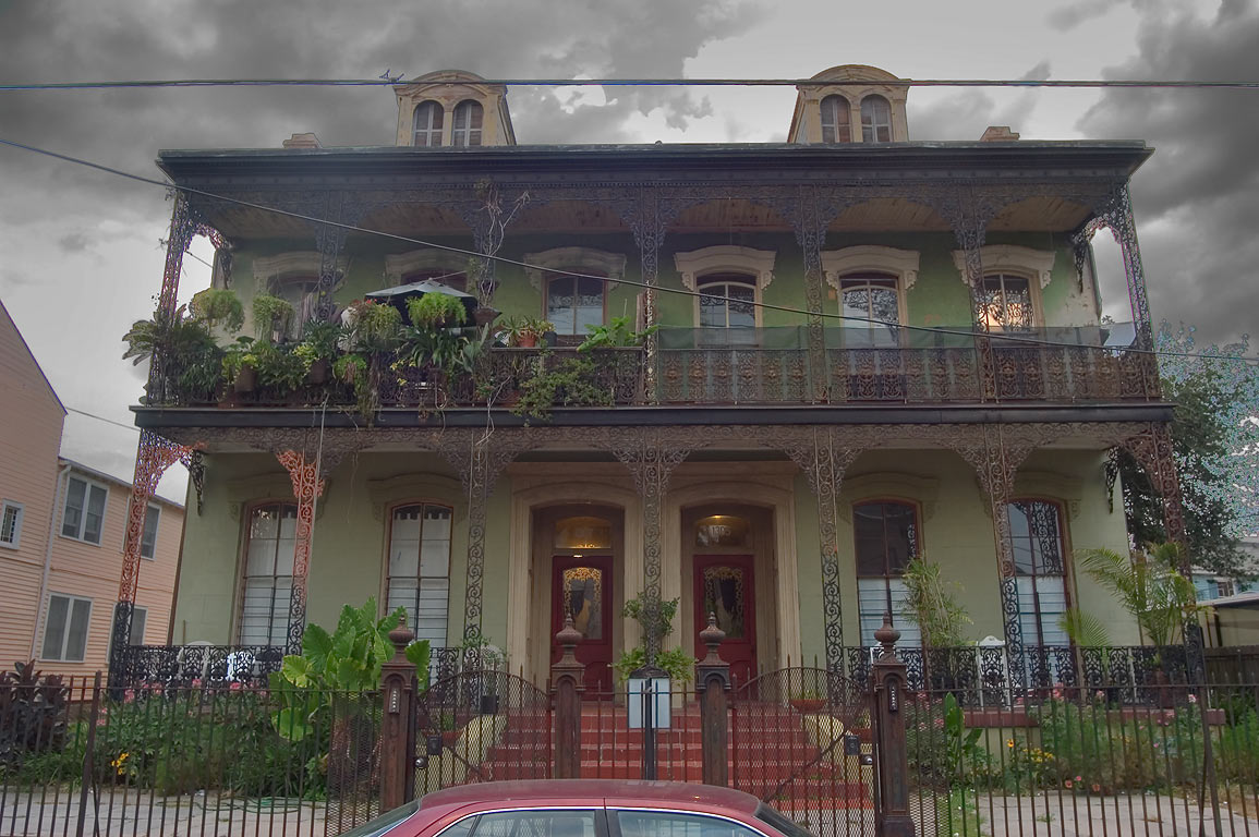 Conery-Byrnes house at 1307-1305 St.Andrew St. in...District. New Orleans, Louisiana