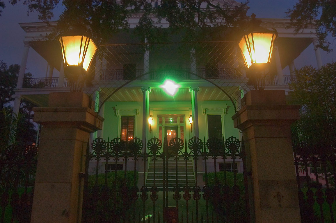 Buckner Mansion (Soule College) at 1410 Jackson...District. New Orleans, Louisiana