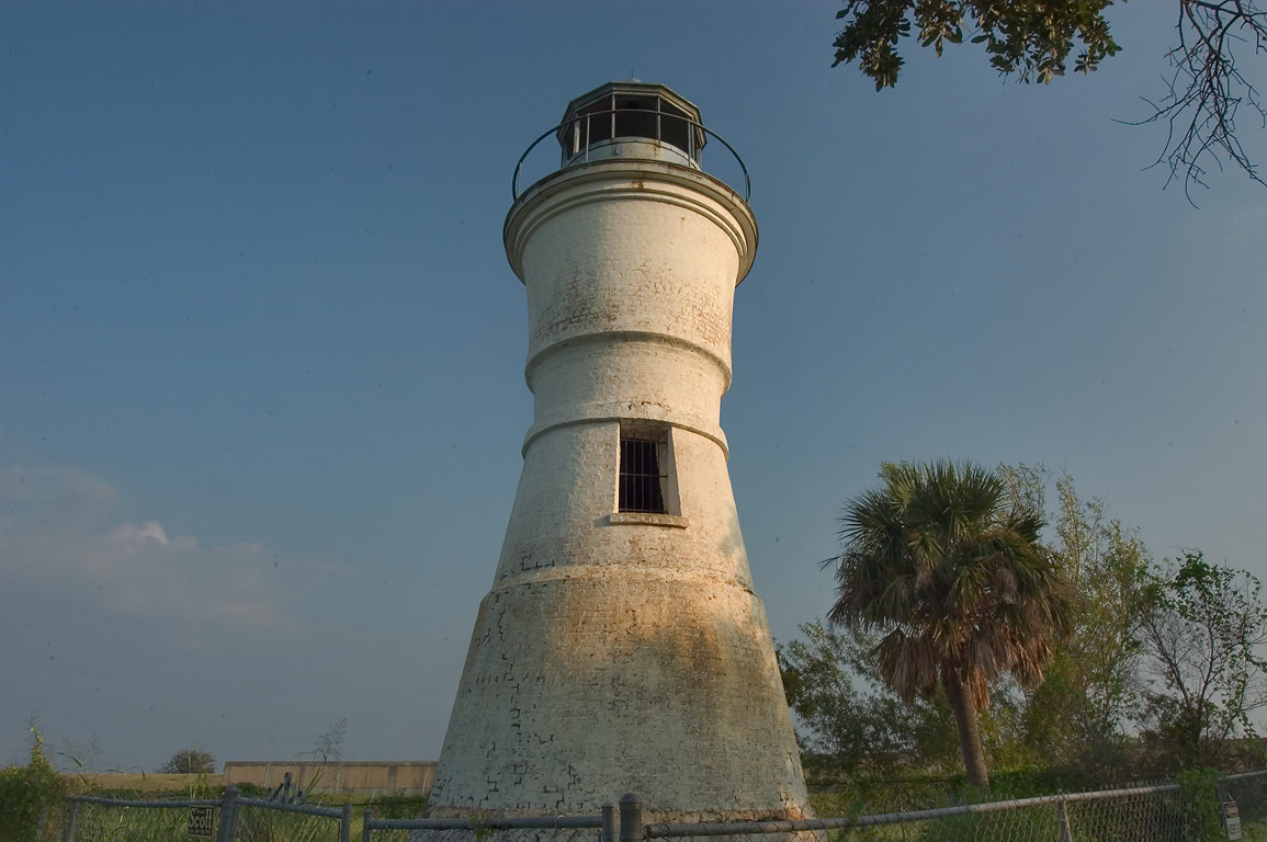 Port Pontchartrain Lighthouse (Milneburg...of New Orleans. New Orleans, Louisiana