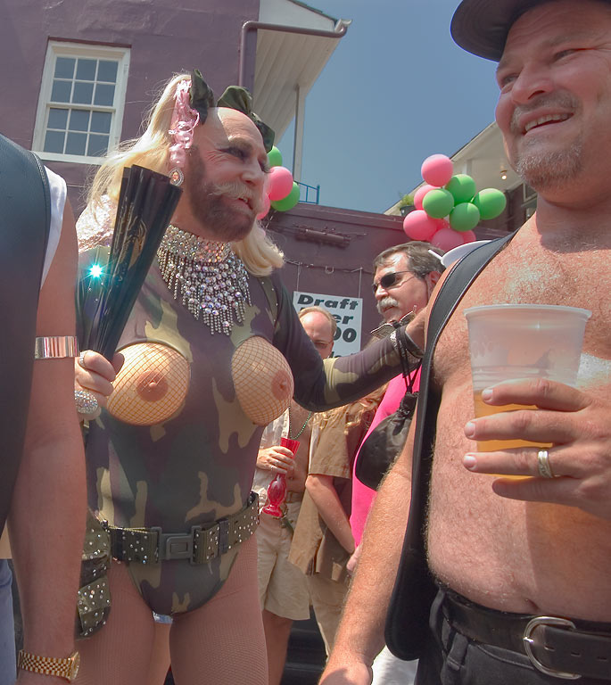 Costume contest of Southern Decadence Festival...French Quarter. New Orleans, Louisiana