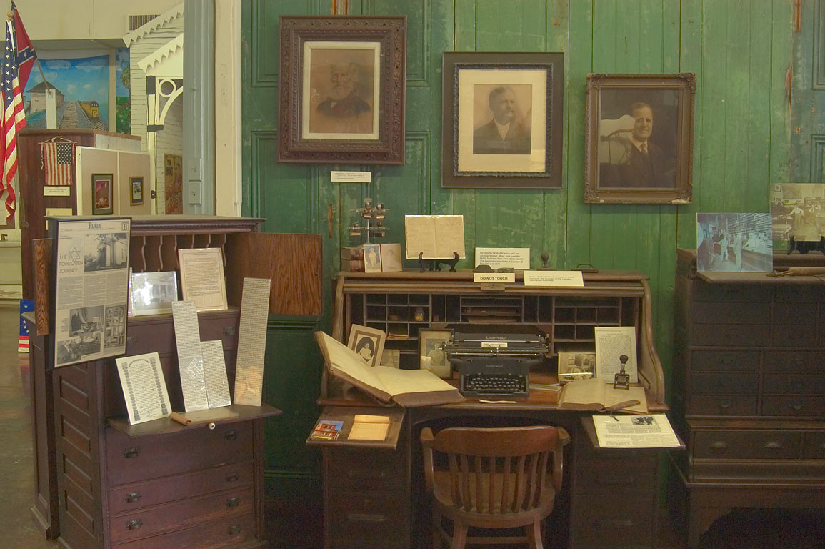 In a historic museum in old department store of B...St.. Donaldsonville, Louisiana