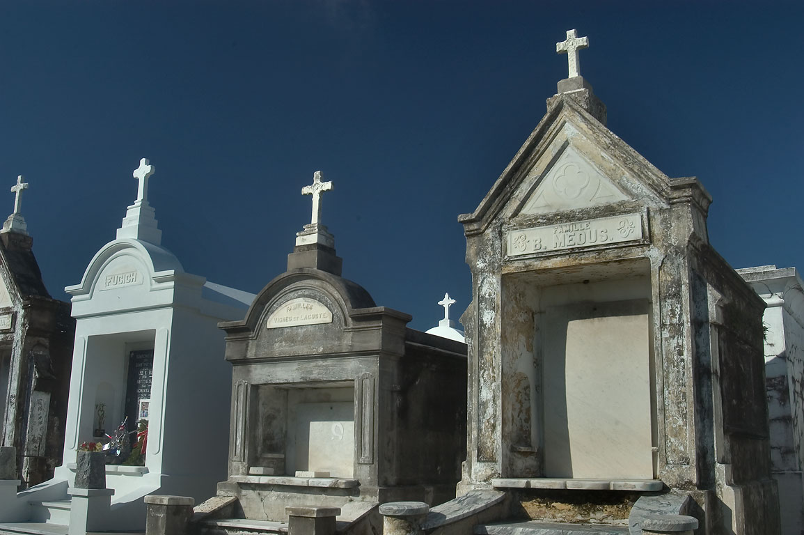Tombs of St.Louis Cemetery No. 3. New Orleans, Louisiana