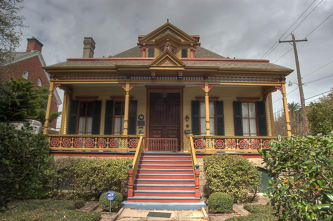 Sweeney-Royston House (1885) at 2402 Ave. L, a...Historic District. Galveston, Texas