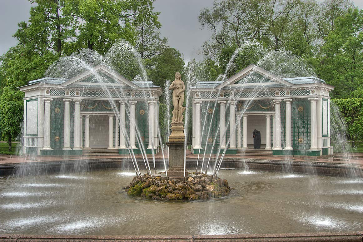 Eve Fountain in Peterhof (Petrodvorets), near St.Petersburg. Russia